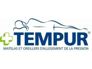 logo de la marque tempur