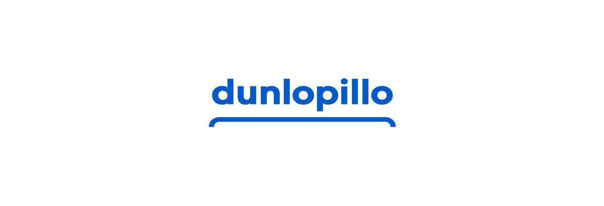 Nouveau logo de la marque de literie Dunlopillo