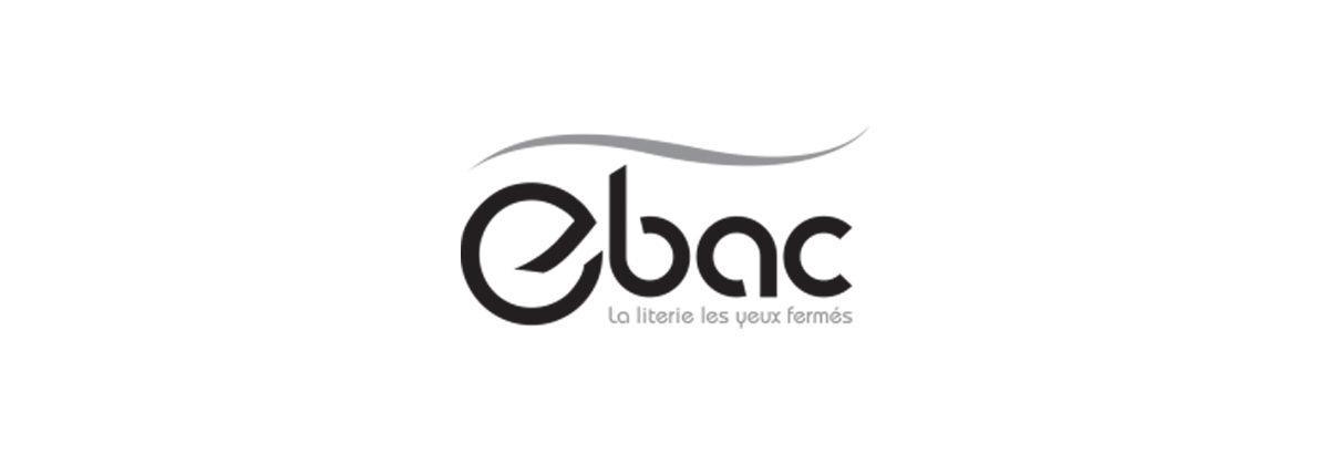 logo de la marque de matelas Ebac