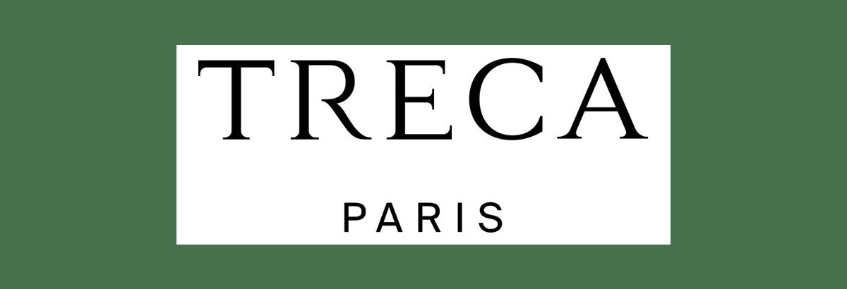 Nouveau logo de la marque de literie haut de gamme Treca