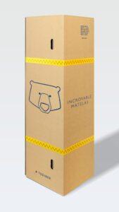 Carton de livraison matelas tediber