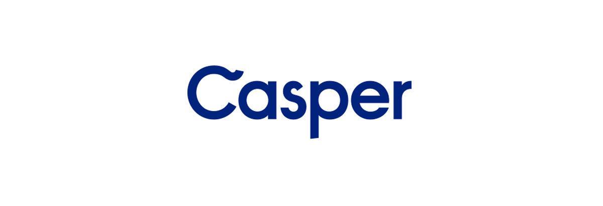 Logo de la marque de matelas casper