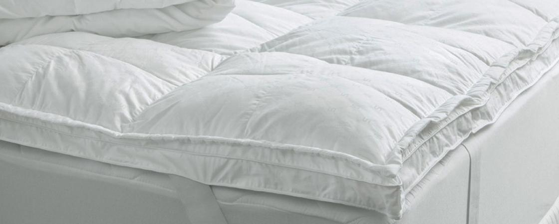 Photo de surmatelas en duvet