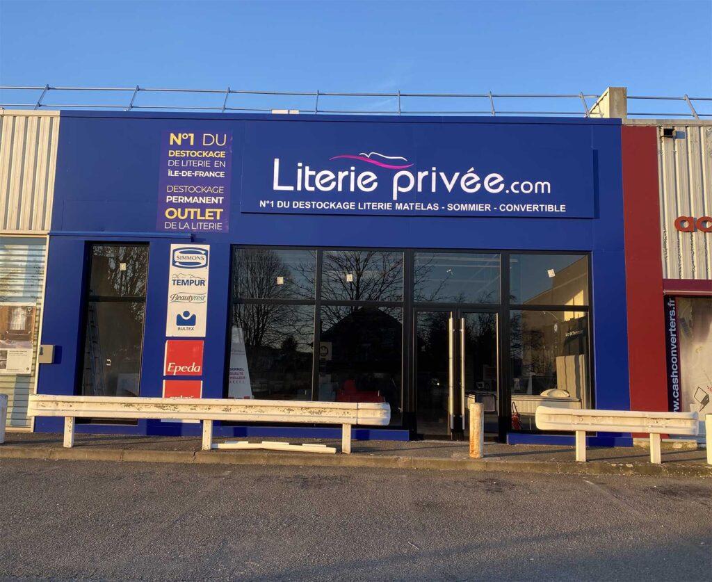 Photo magasin literie privée Orgeval